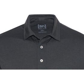 super.natural Essential Poloshirt Men Caviar